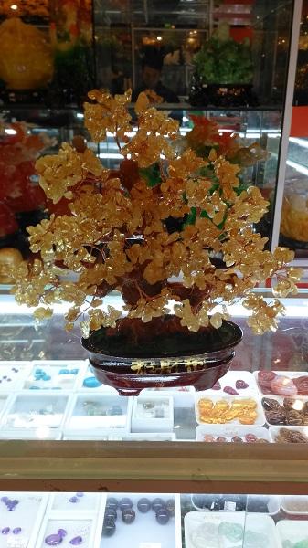 Cây Tài Lộc Đá Thạch Anh Vàng Tự Nhiên - CLV260