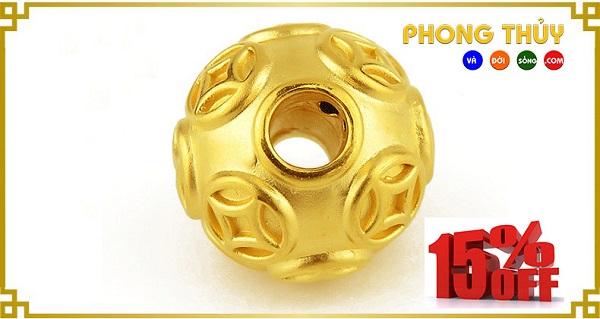 Charm Bi Vàng Chiêu Tài 9999 - CT2000