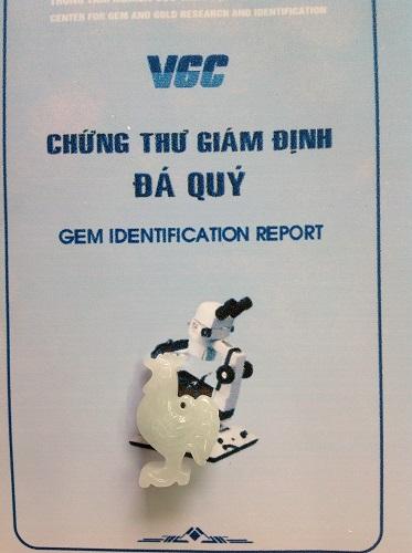 Gà Phong Thủy Ngọc Phỉ Thúy - GPT330