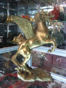 Ngựa Phong Thủy Long Mã 15cm