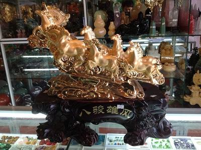 Ngựa Phong Thủy - Bát Mã - 3726