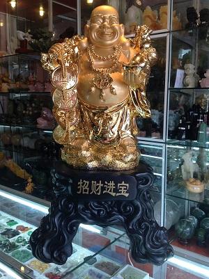 Phật Di Lặc Tụ Tài Như Ý Vàng - 5201