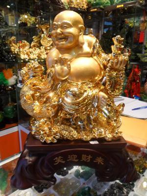 Phật Di Lặc - Tài Phước Tiến Vàng 44 cm 01136