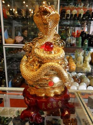 Tượng Rắn Phong Thủy 45 cm