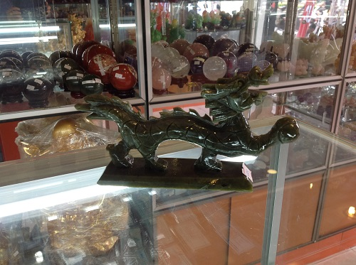 Rồng Đá Lam Ngọc Phong Thủy - RLN56
