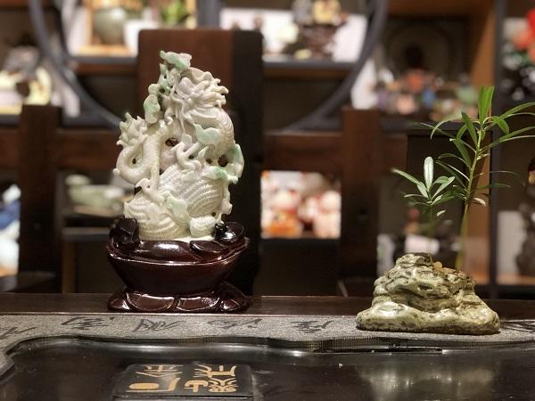Rồng Ngọc Phỉ Thúy Phong Thủy Tự Nhiên - 1901090