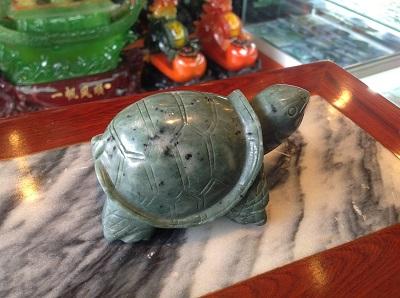 Rùa Đá Ngọc Xanh Phong Thủy - RDX680