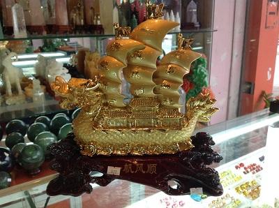 Thuyen Phong Thuy Thuyền Buồm Phong Thủy 5257