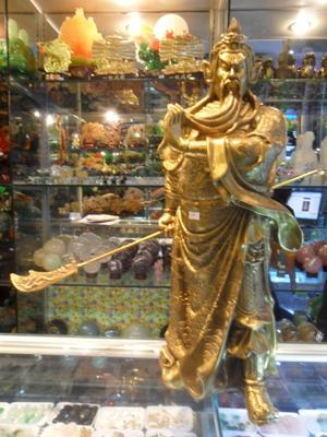 Tượng Quan Công Phong Thủy Bằng Đồng - 48cm
