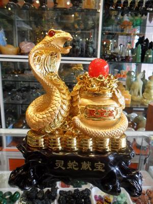 Tượng Rắn Phong Thủy 25 cm