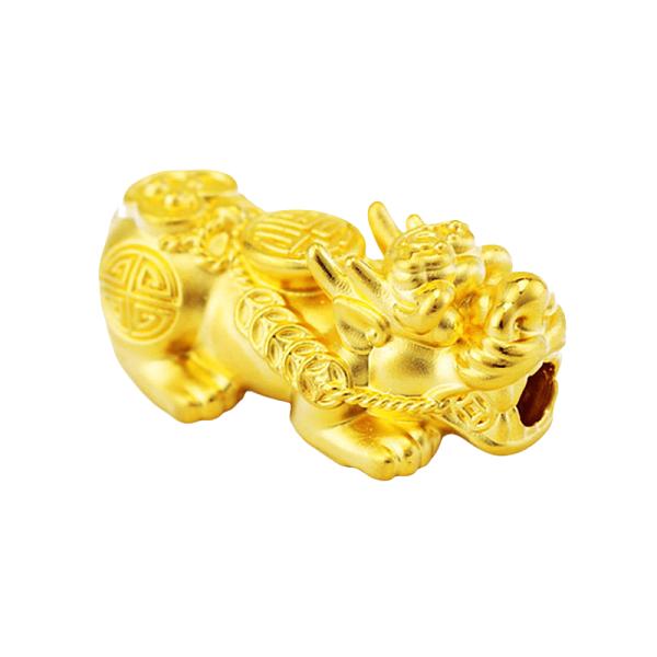 Charm Tỳ Hưu Vàng 9999 - Size Trung - T5000